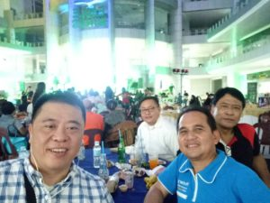 fellowship night at the City Hall of Tagum.  Very unique City HALL with a multipurpose Convention hall at the center.